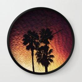 California Views Wall Clock