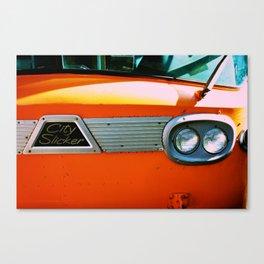 City Slicker Canvas Print