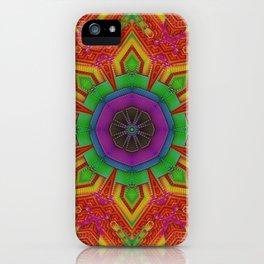 Dynamic Mandala || #society6 #buy #psychedelic iPhone Case