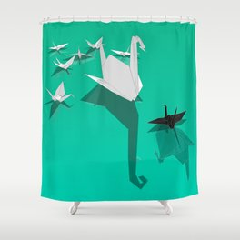 Misfit Shower Curtain