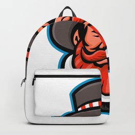 Beefeater or Yeoman Head Mascot Backpack