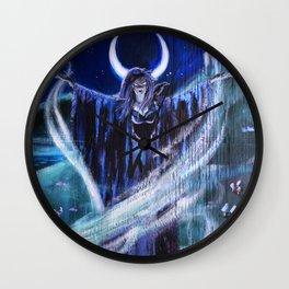 """Goddess Macha"" by Rev. Paul Messerle, HP Wall Clock"