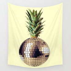 ananas party (pineapple) Wall Tapestry