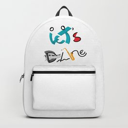 Type Let's Dance Backpack