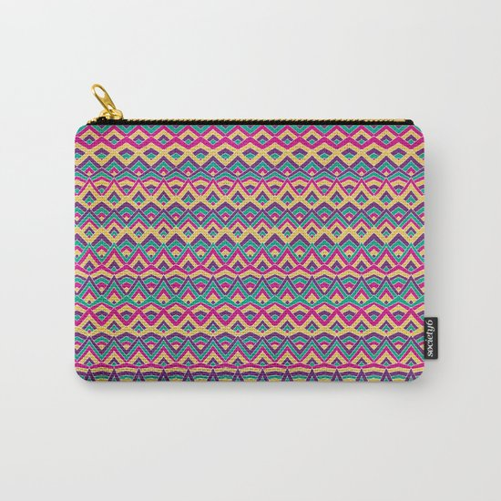 Native Mountain Peaks Carry-All Pouch