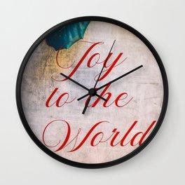 Joy to the World 2 Wall Clock