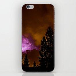 The Heavens Opened iPhone Skin