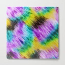 Rainbow furs Metal Print