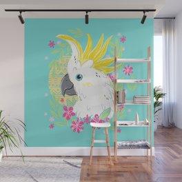 Sulphur Crested Cockatoo Wall Mural