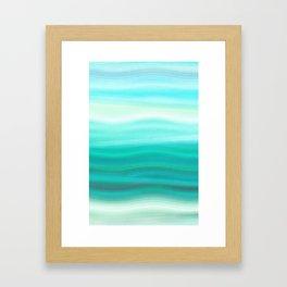 Green Mirage Framed Art Print