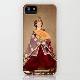 Japanese Empress Shōken iPhone Case