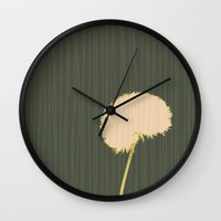 randy c Wall Clocks featuring Randy Dandy by Endless Summer