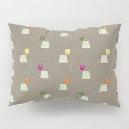 Tea time - Fabric pattern Pillow Sham