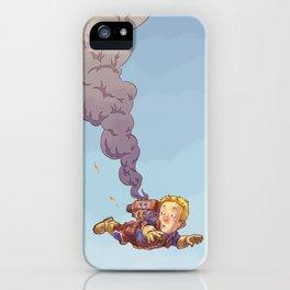 Jetpack Problems iPhone Case