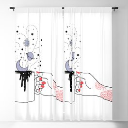 Coffee Time Blackout Curtain