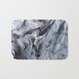 Yanapaccha Glacier Abstract Bath Mat