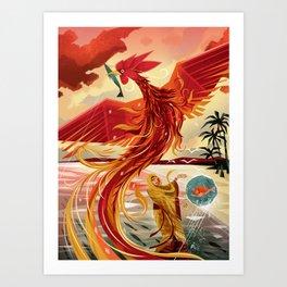 Sarimanok Art Print