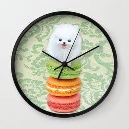 Mt. Macarone Wall Clock