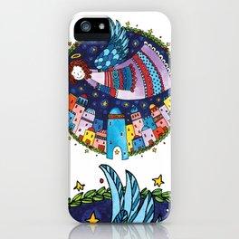 Holy night > Angel iPhone Case