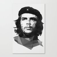 che Canvas Prints featuring Che by Poly Iconik Art