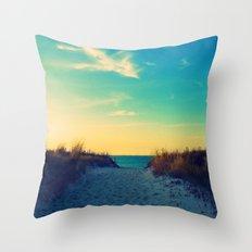 Walk in Love Throw Pillow