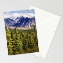 The Alaska Range Stationery Cards