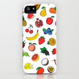 Fruit Are Awesome iPhone Case