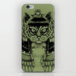 Cleo-CAT-ra iPhone Skin