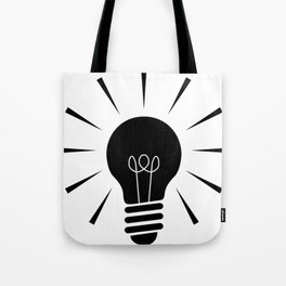 Light_Bulb Tote Bag