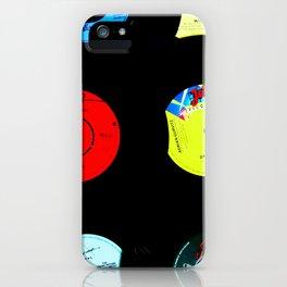 Vinyl Records Version 2 iPhone Case