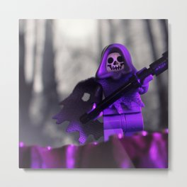 Don't Fear the Reaper Metal Print
