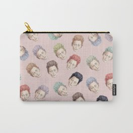 Tilda Heads and Hair Colors Carry-All Pouch