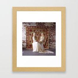 Twins (Embrace) Framed Art Print