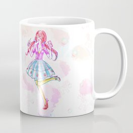 Pastel Unicorn Frap Girl Coffee Mug