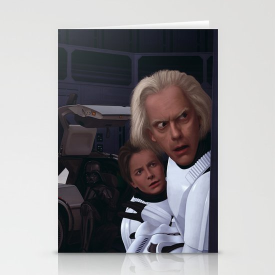 I Find Your Lack Of Jiggawatts Disturbing Stationery Cards