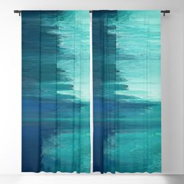 Pixel Sorting 49 Blackout Curtain