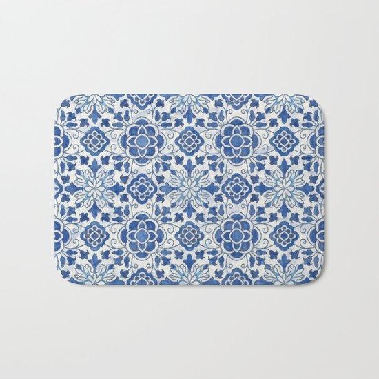 Azulejos Bath Mat