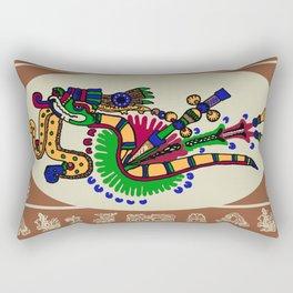 Quetzalcoatl II Rectangular Pillow