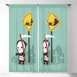 Highway to hell Blackout Curtain