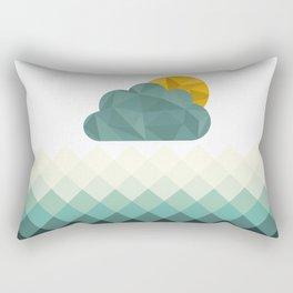 Sea Polygons Rectangular Pillow
