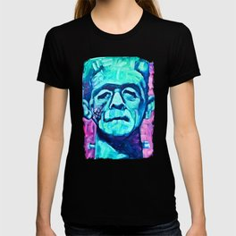 Frankenstein Halloween Zombie T-shirt