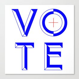 Vote Baby Vote 040316 Canvas Print