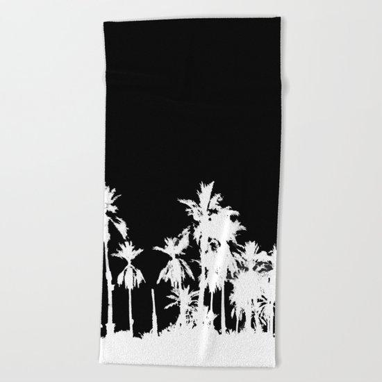 Date Palm Trees 2 Beach Towel