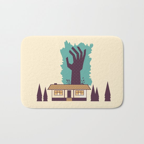 The Cabin in the Woods Bath Mat