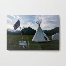 Alaskan Campout-2 Metal Print