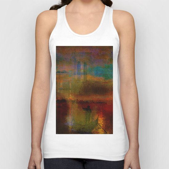The return of the gondolier Unisex Tank Top