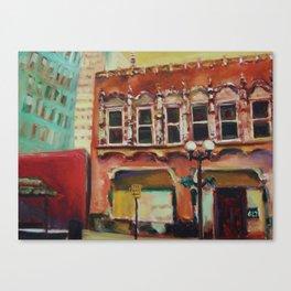 Old San Antonio Canvas Print