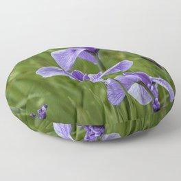 Sankeien Garden Iris Floor Pillow