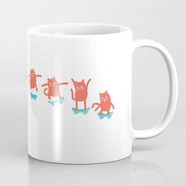 Kick Flip Cat Coffee Mug