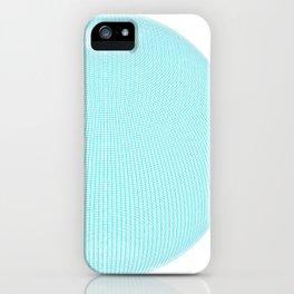 Wire Globe Full Blue White Background iPhone Case